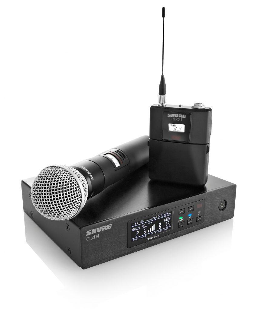 Funkmikrofon kabellos