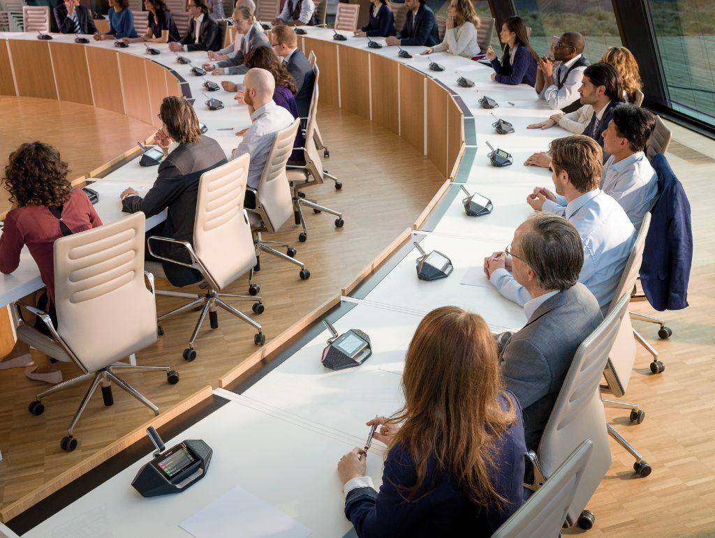 Tischsprechstellen und Diskussionsanlagen