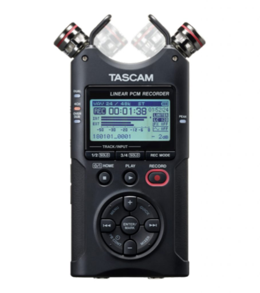 Tascam Audio Recording
